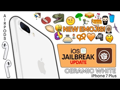 Jet White iPhone 7, New Emojis, Airpods Release Date & More Apple News!