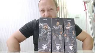 Joy Toy 1:18 Cyborg Soldiers Victor, Peter, and Boris