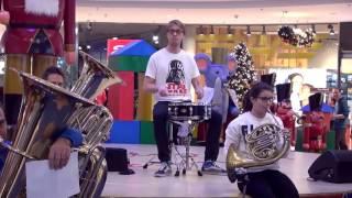 Star Wars flashmob Szeged Árkád