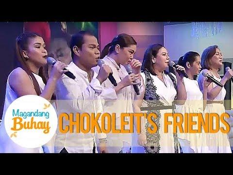 K, Pokwang, Pooh, Iyah & Negi cry as they sing Chokoleit's favorite song | Magandang Buhay