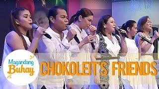 K, Pokwang, Pooh, Iyah & Negi cry as they sing Chokoleit's favorite song | Magandang Buhay