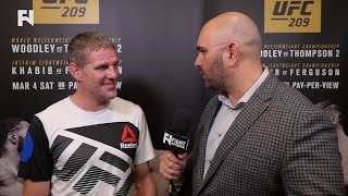 UFC 209: Dan Kelly Post-Fight Interview on Rashad Evans Win