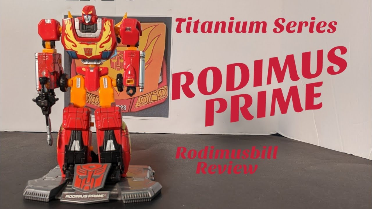 Transformers Titanium Series Die Cast Rodimus Prime Review By Rodimusbill