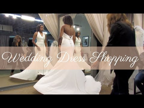 Wedding Dress Shopping !!