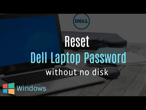 How to reset password on a dell laptop windows 7