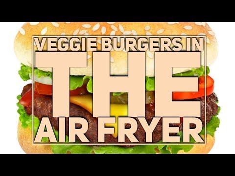 Best Veggie Burgers In The Air Fryer Recipe