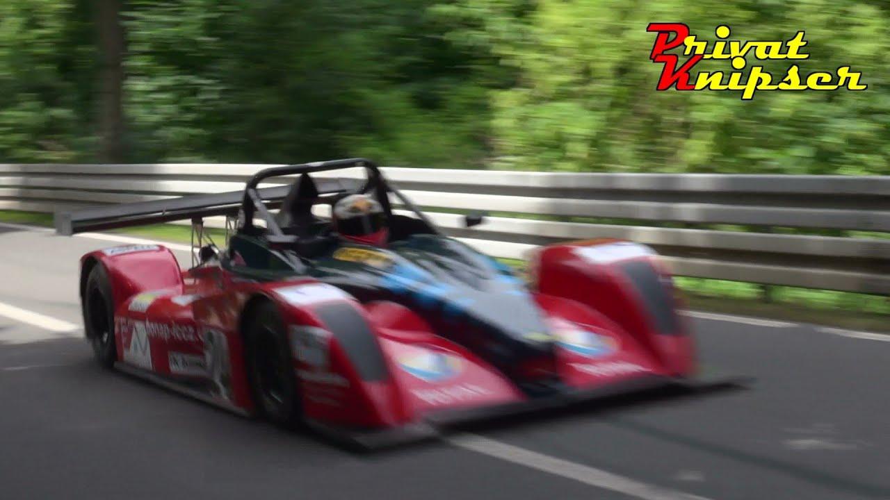 Amazing Sound Dušan Nevěřil at Glasbach Hillclimb 2013 // Norma M20FC Judd  V8 Glasbachrennen
