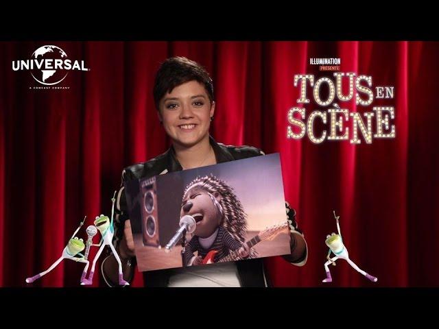 """Tous en scène / Featurette """"Elodie Martelet est Ash"""" [Au cinéma le 25 Janvier]"""