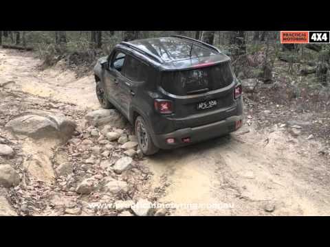 Jeep Renegade Trailhawk off-road test