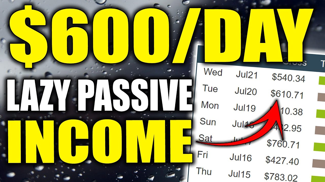 How To Make Passive Income Online The Lazy Way & Earn $600+/Daily With Affiliate Marketing!