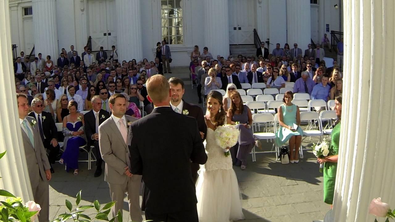 Outdoor Wedding Ceremony Hl Water Tower