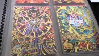 ドラゴンボールヒーローズカード紹介(バインダー)&トレード提供動画