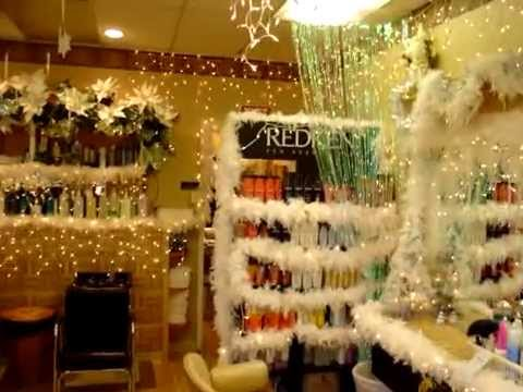 Best hair salon in nj youtube for Salon xmas decorations