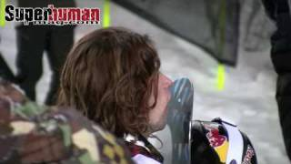 2009 X Games snowboard superpipe battle between Kevin Pearce and Shaun White.