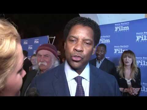Denzel Washington interview at Santa Barbara International Film Festival