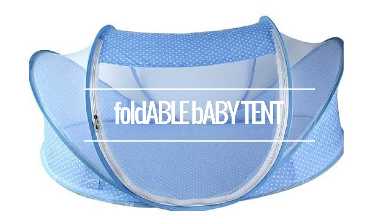 Foldable baby tent bed review  sc 1 st  YouTube & Foldable baby tent bed review - YouTube