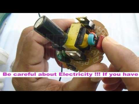 How to repair Energy Saving Bulb | CFL repair process 100% working