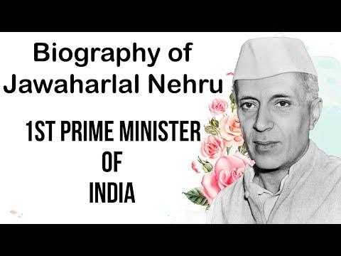 Jawaharlal Nehru biography जवाहरलाल नेहरू की जीवनी First Prime Minister of India