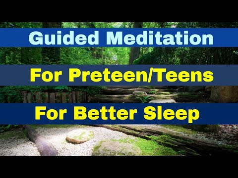 Youth & Teen guided meditation for insomnia