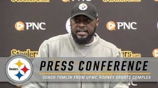 Mike Tomlin Analyzes Ben's Return to the Game & Final Play vs. Raiders | Pittsburgh Steelers