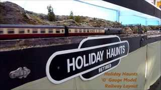 (HD) Holiday Haunts, 'O' Gauge Model Railway Layout.