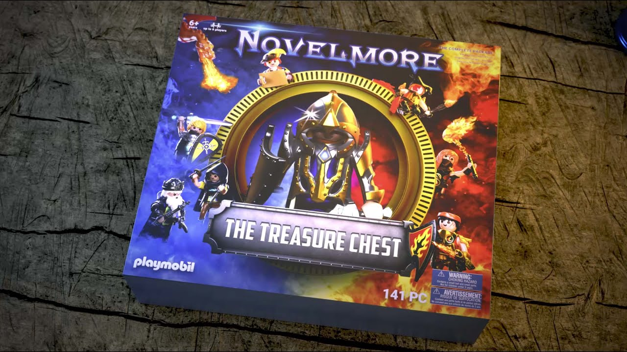 PLAYMOBIL®Box. NOVELMORE: The Treasure Chest | TV Spot | PLAYMOBIL English