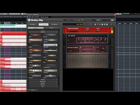 Creating Crunch Tones With Guitar Rig (Preview)