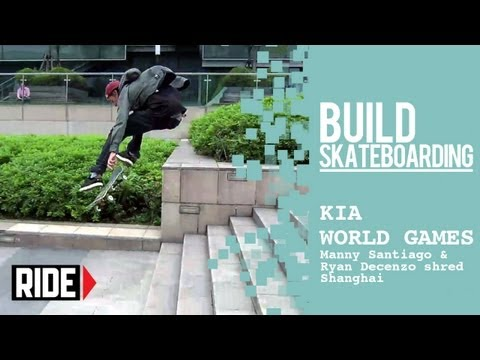 Kia World Games 2013 -- Manny Santiago & Ryan Decenzo Shred Shanghai