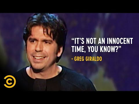 Why It's a Scary World to Bring Kids Into - Greg Giraldo