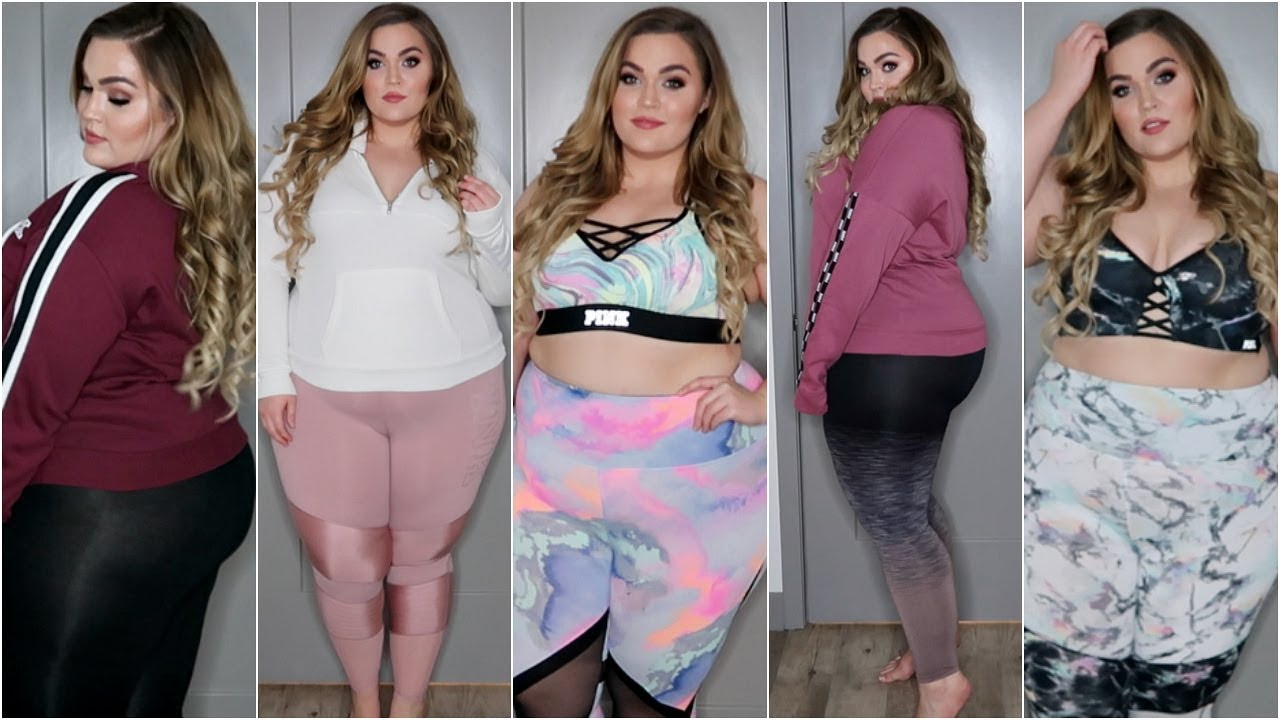 Estremamente Victoria's Secret PINK Haul & Try-On | Fat Girl Friendly Clothing  DA41