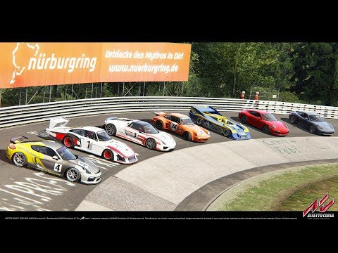 Porsche 911 Carrera S - Nordschleife  ( Assetto Corsa Racing Club )