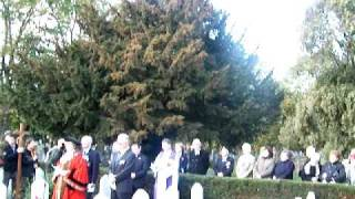Annual All Souls Day at Newark-On-Trent Cemetery