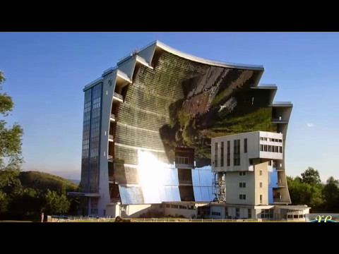 The largest Solar Furnace | Odeillo in Pyrénées-Orientales, France