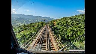 SNTF :  les #gorges de #Lakhdaria ex #Palestro !!! une vue depuis la cabine d'un train HD1080 thumbnail
