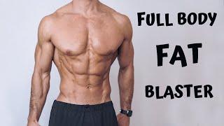 FULL BODY FAT BLASTER | No Equipment | Rowan Row