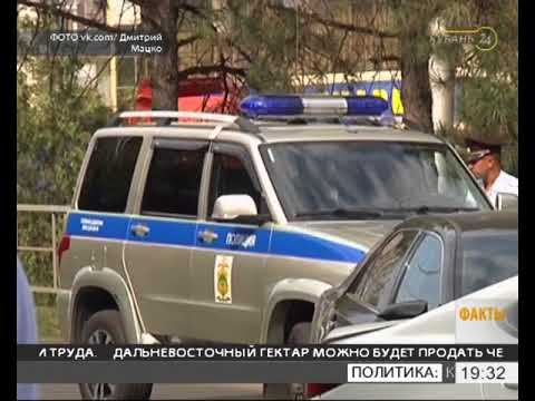 В Краснодаре произошла погоня и перестрелка, ранен полицейский