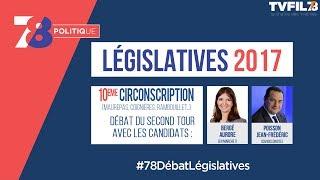 7/8 Politique – Législatives 2017 – Débat du 2d tour de la 10e circonscription dans les Yvelines