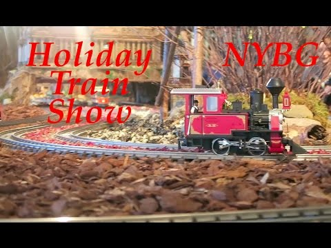 Best Holiday Train Show at New York Botanical Gardens, 25 Years & Largest  2016 - 2017 4k New! ep. 2