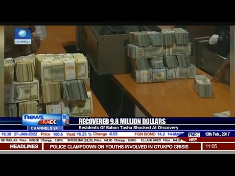 Recovered $9 8m: Frm GMD NNPC Stores Money In Sabon Tasha Slum