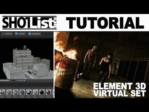 Element 3D Virtual Set Tutorial