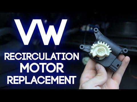 How To Replace a VW Recirculation Motor: Golf, Jetta, GTI, Passat, Rabbit R32