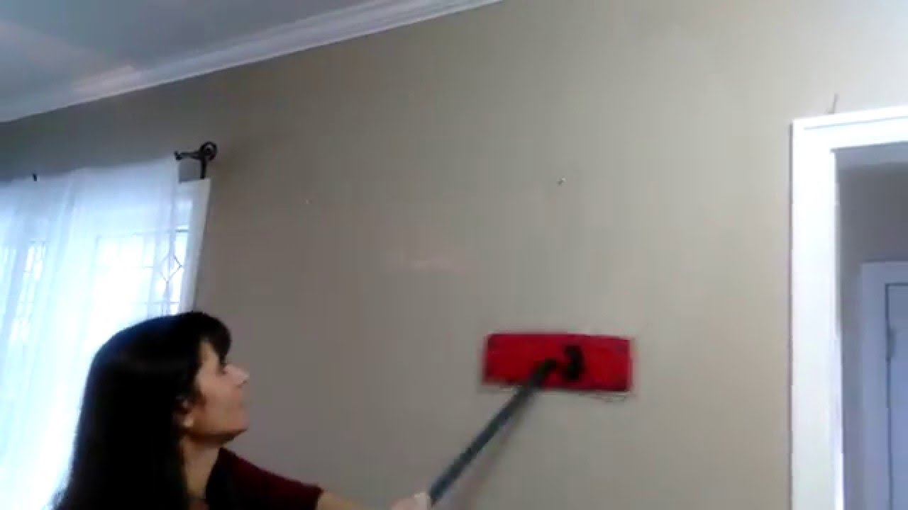 How to wash walls like a Pro - YouTube