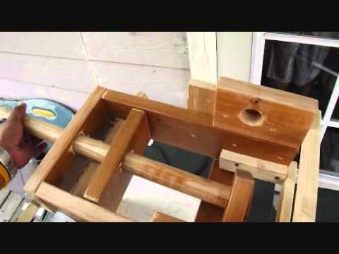 Maquina Hecha En Casa Para Hacer Churro Youtube