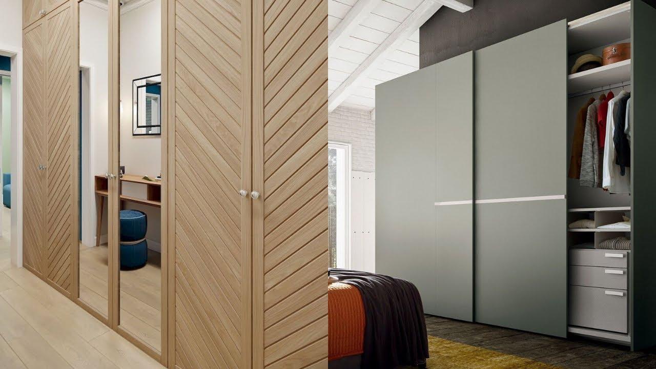 Modern Sliding Wardrobe Design 2020 Stylish Sliding Cupboard Images Youtube