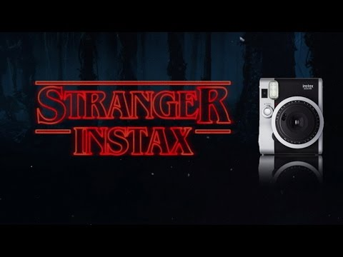 Stranger Things Instax Photos