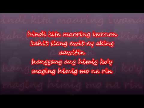 SANA'Y WALA NANG WAKAS BY: SHARON CUNETA WITH LYRICS