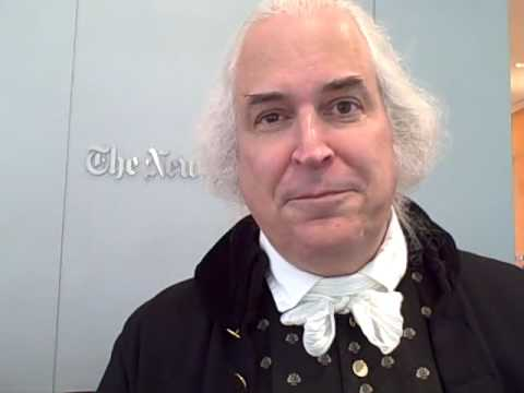 George Washington Interview at the New York Times www.fxva.com