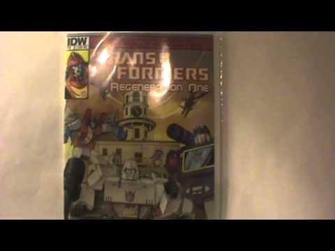 Halcon/Giant Robot Comics Transformers Exclusive Comic book