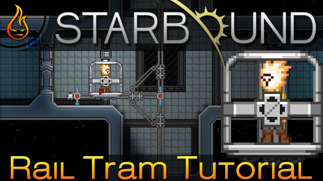 Starbound 13 everthing you need to know about the rail tram youtube starbound 13 everthing you need to know about the rail tram greentooth Images