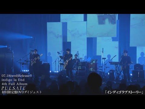 indigo la End 4th Full Album「PULSATE」初回限定盤 DVDダイジェスト